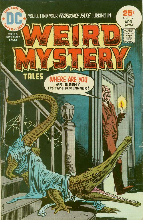 Weird Mystery Tales 017