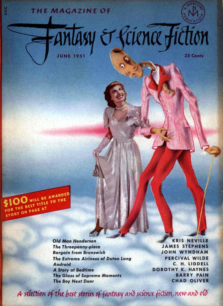 The Magazine Of Fantasy And Science Fiction V